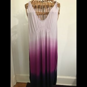 We The Free purple ombré gown